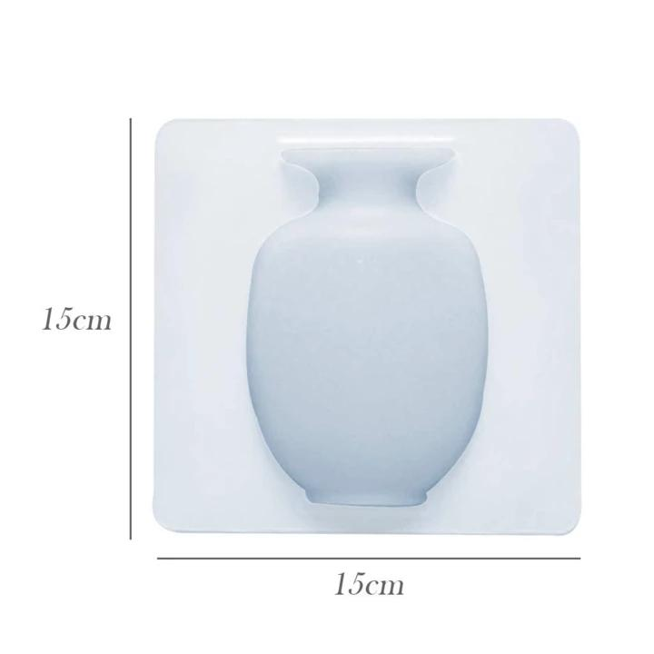 Reusable Wall Mounting Silicone Vase(2020 NEW UPGRADE)