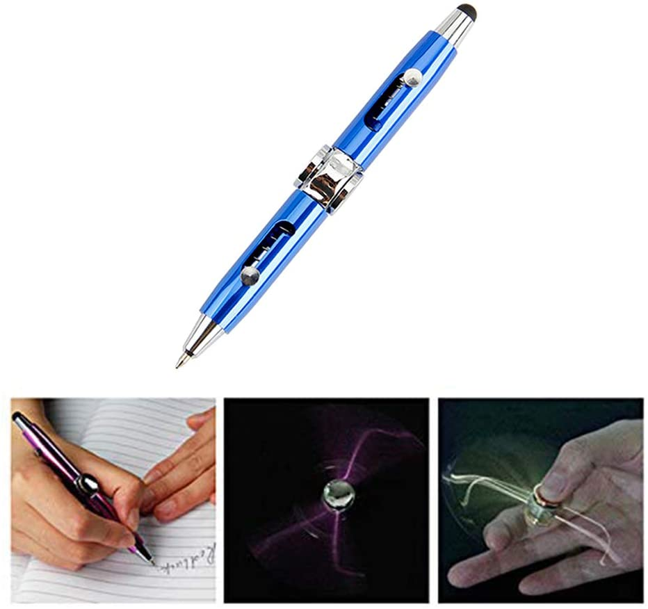 (2020 New Version) Multifunctional decompression rotating glowing pen