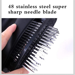 Stainless Steel Loose Meat Tenderizer 48 Stainless Steel Ultra Sharp Needles