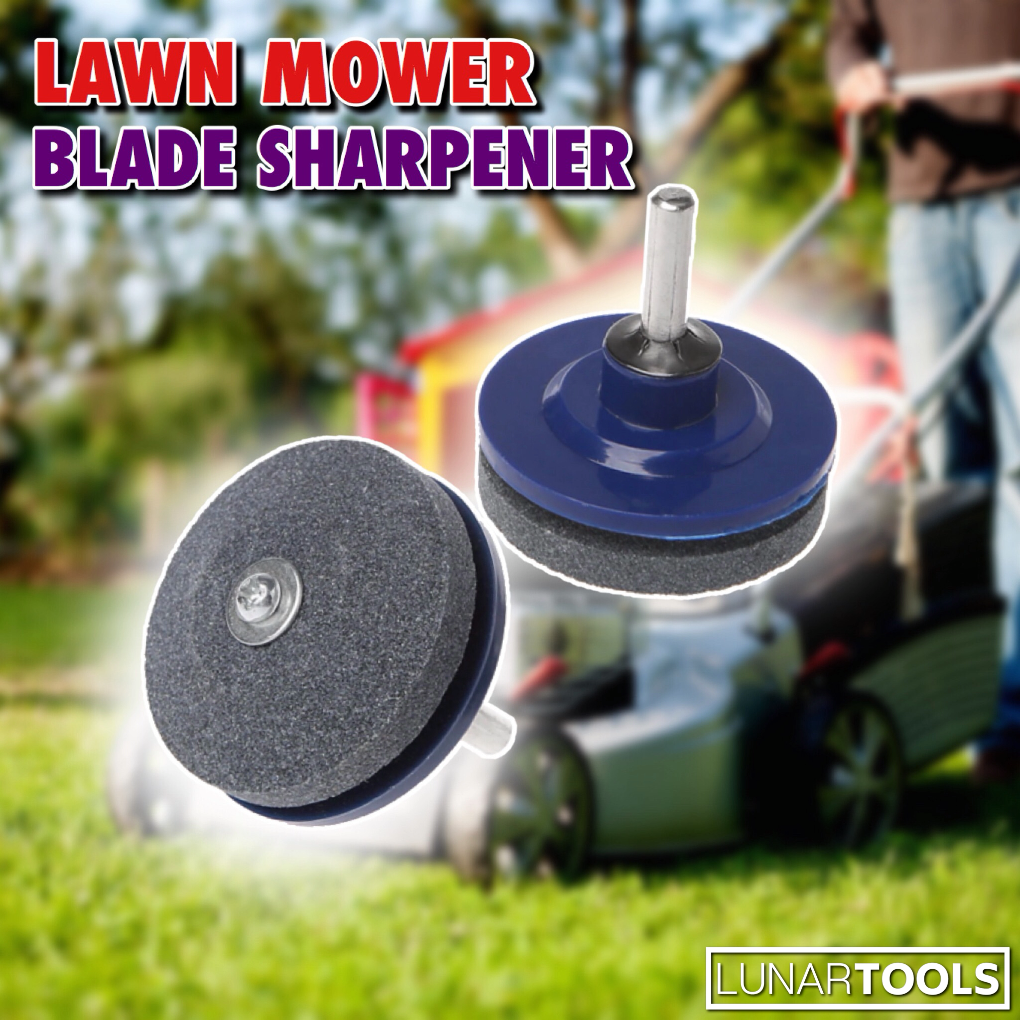 Lawn Mower Blade Sharpener(2 PACK)