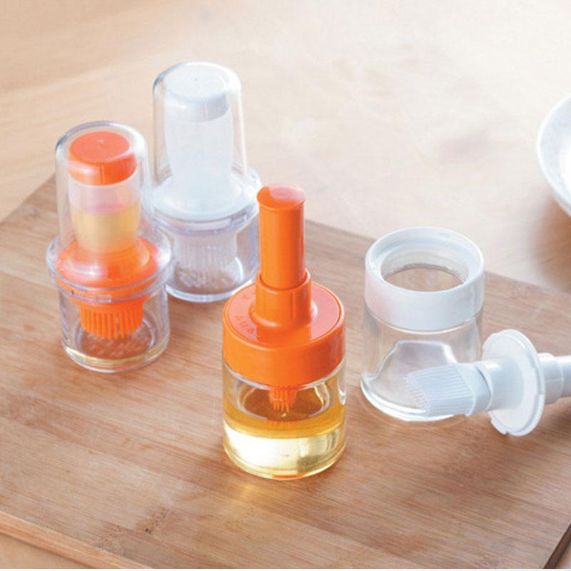 Convenient Squeeze Type Oil Bottle