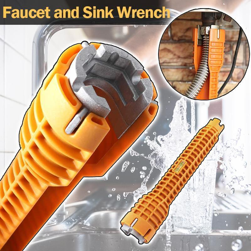 Faucet and Sink Wrench