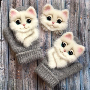 Animal Mittens - A Mother To Daughter Gift