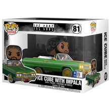 Load image into Gallery viewer, Pop! Rides: Ice Cube with Impala 81