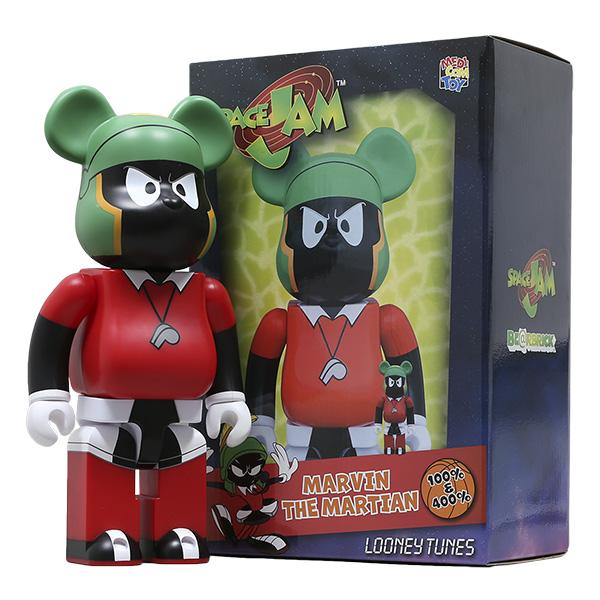 Bearbrick Marvin The Martian 100% & 400% Set