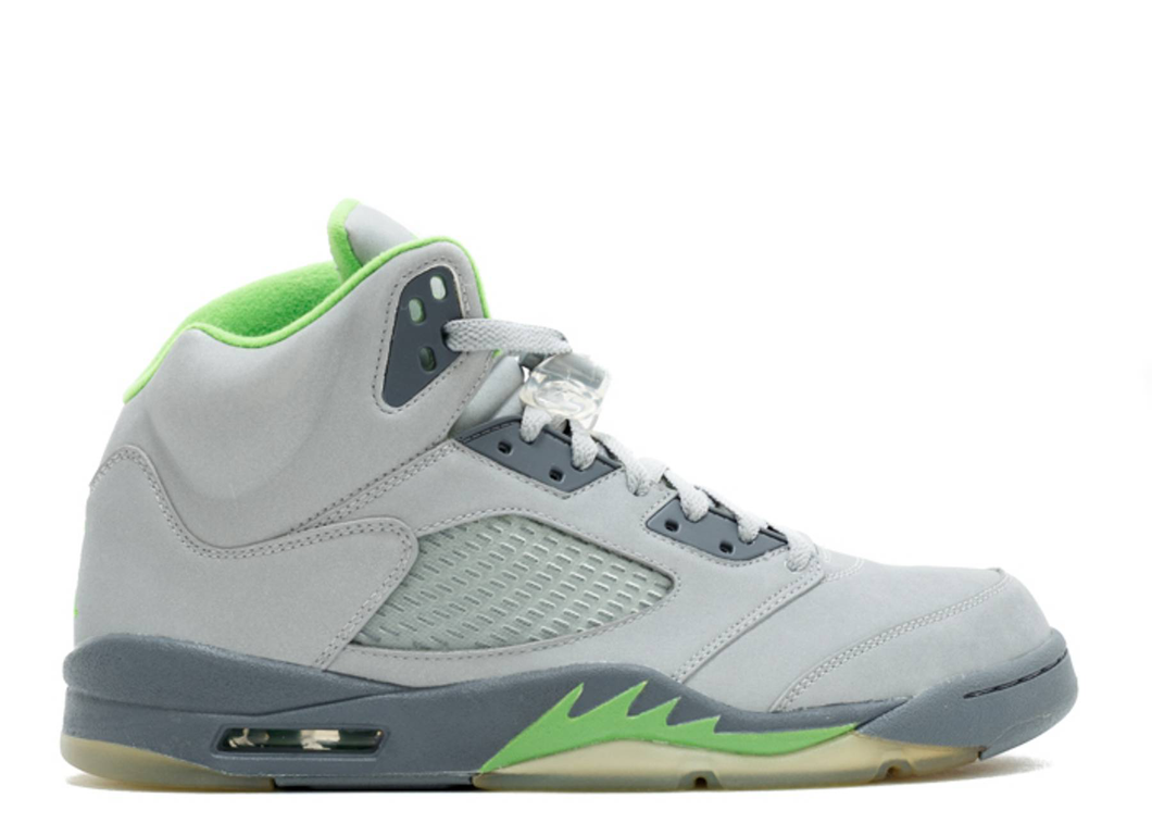 Jordan 5 Retro Green Bean (2006) Size 9 US