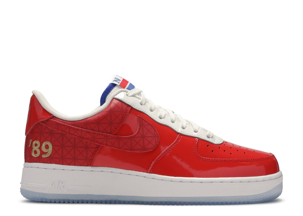 Nike Air Force 1 Low Detroit Pistons 89 Championship Size 8 US