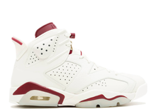 "Load image into Gallery viewer, Air jordan 6 retro ""maroon"" (2015) Size 9 US"