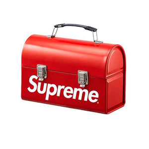SUPREME METAL LUNCH BOX RED FW15