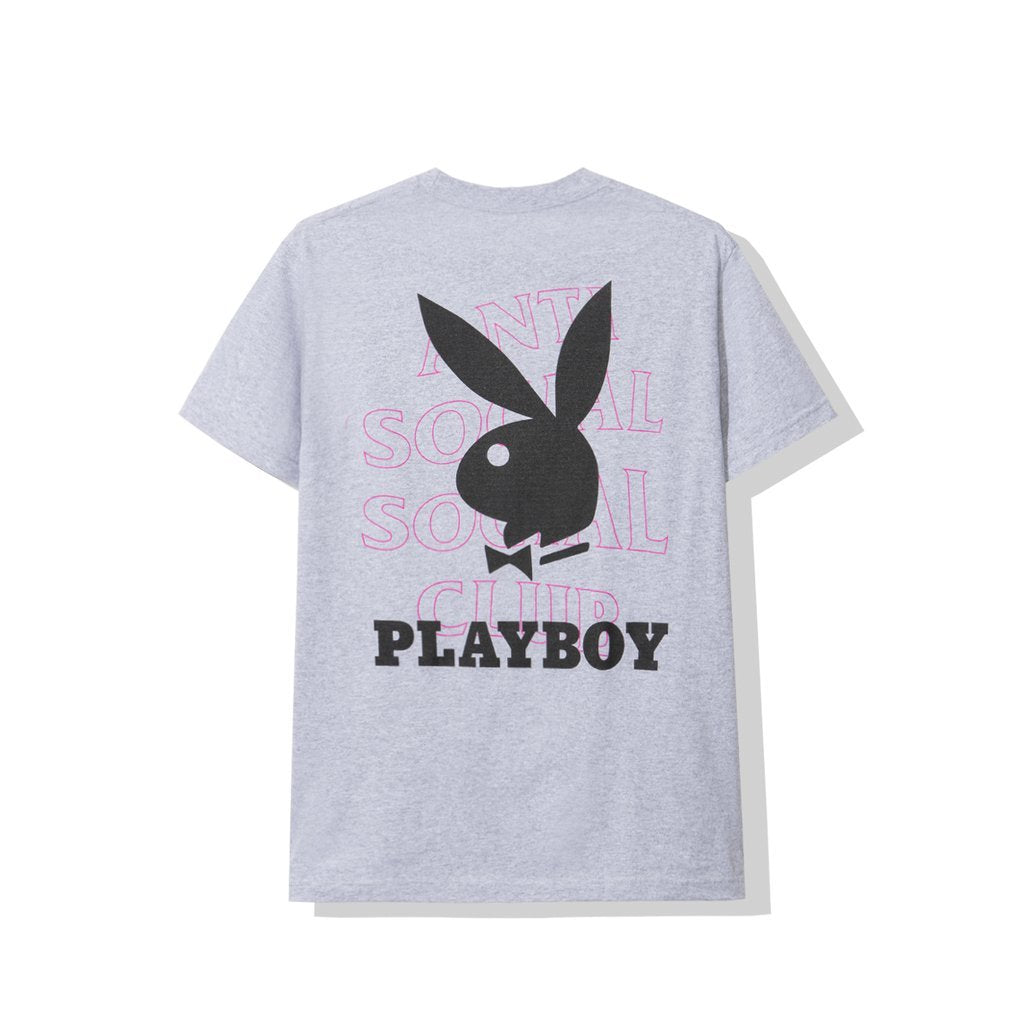 Anti Social Social Club Playboy FW19 Tee - Gray Size S