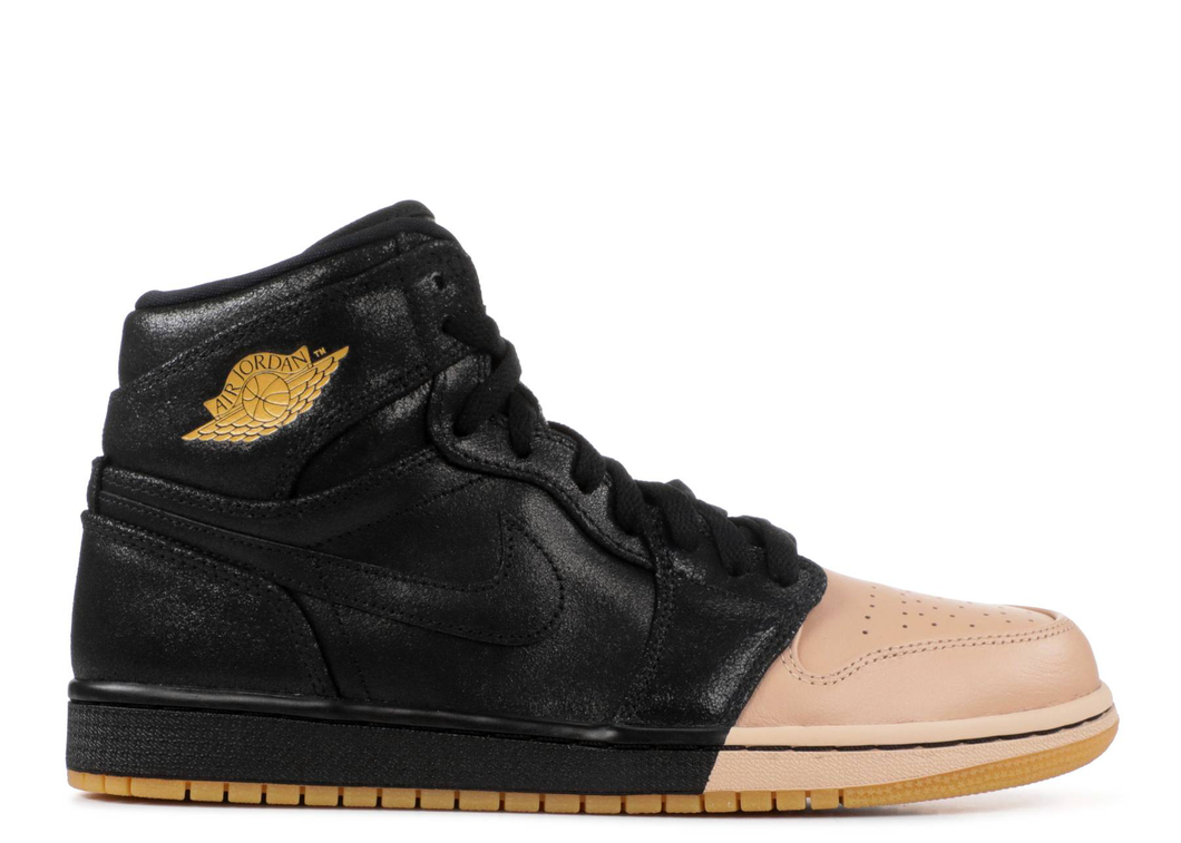 Jordan 1 Retro High Dip-Toe Black (W) Size 6W