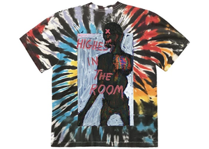 Travis Scott Highest In The Room Tee Tie Dye Size XL