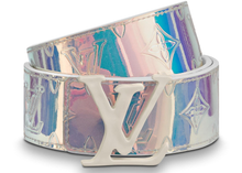 Load image into Gallery viewer, Louis Vuitton LV Shape Belt Monogram 40MM Prism