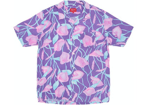 Supreme Lily Rayon Shirt Purple Size M