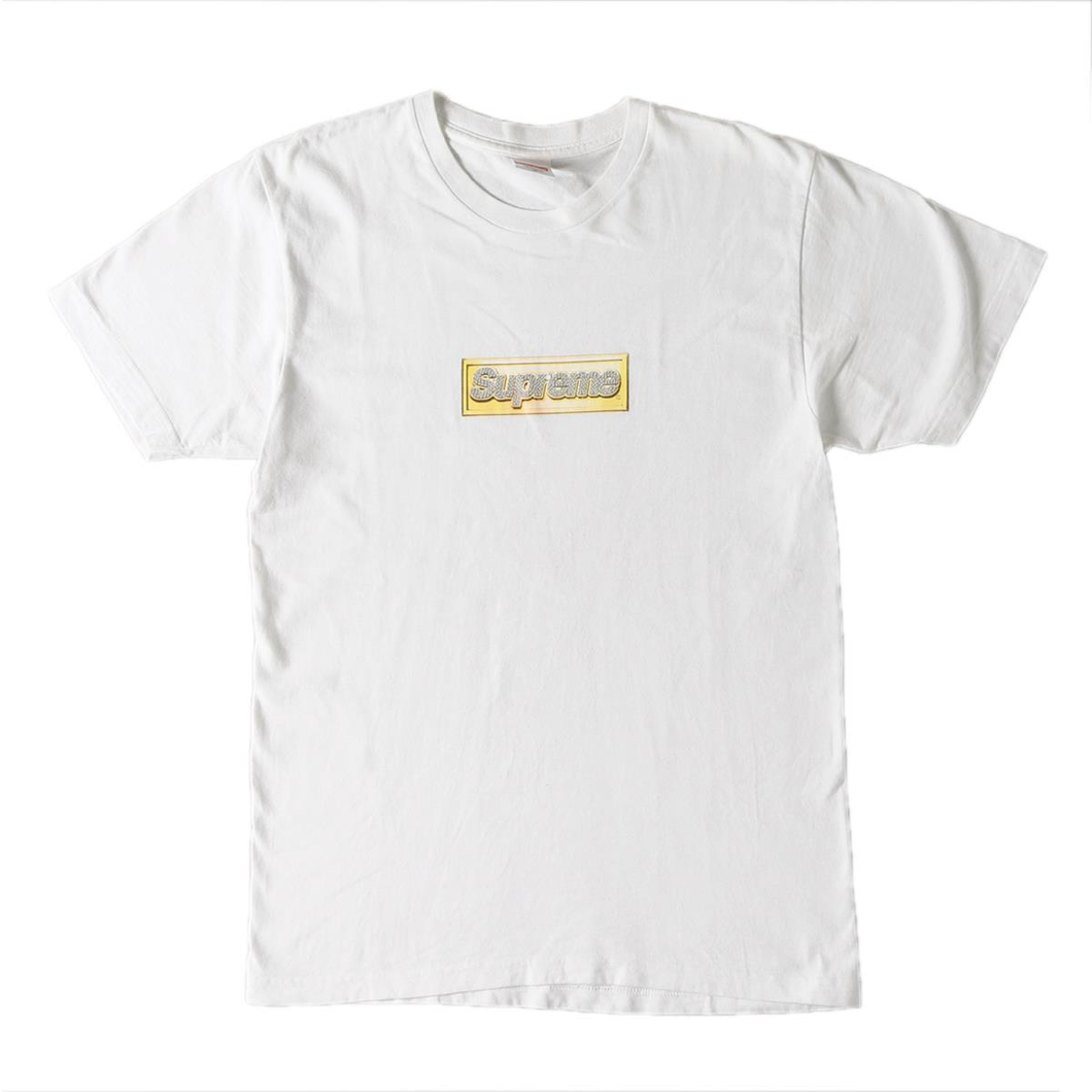 Supreme Bling Box Logo (2013) White Size L