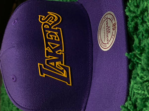 LAKERS Mitchell N Ess Snapback Cap