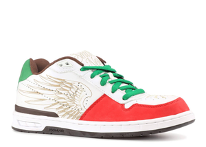 Nike Paul Rodriguez Zoom Air Elite White/Sport Red Multi Sizes