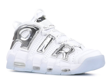 Load image into Gallery viewer, Nike Air More Uptempo Chrome White (W) Size 9W