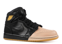 Load image into Gallery viewer, Jordan 1 Retro High Dip-Toe Black (W) Size 6W