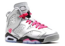 Load image into Gallery viewer, Jordan 6 Retro Valentine's Day 2014 (GS) Size 7Y