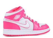 Load image into Gallery viewer, Jordan 1 Mid Hyper Pink White (GS) Size 3Y