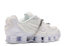 Load image into Gallery viewer, Nike Shox TL Comme des Garcons White (W) Size 8W