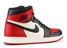 "Load image into Gallery viewer, Nike Air jordan 1 retro high og ""Bred Toe"" Size 8 US"