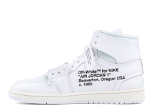 Load image into Gallery viewer, Jordan 1 Retro High OFF-WHITE White Size 10 US