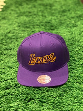 Load image into Gallery viewer, LAKERS Mitchell N Ess Snapback Cap