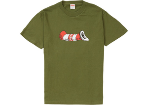 Supreme Cat in the Hat Tee Olive Size M