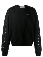 Load image into Gallery viewer, OFF-WHITE Diag Backbone Over Sweatshirt XXL