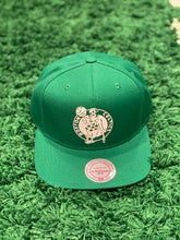 Load image into Gallery viewer, Boston Celtics Mitchell N Ess Snapback Cap