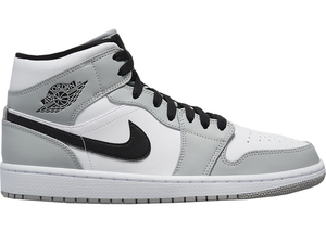 Jordan 1 Mid Light Smoke Grey Multi Sizes