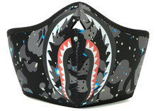 Load image into Gallery viewer, BAPE Space Camo Shark Mask Black