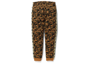 BAPE x MCM Camo Slim Women Sweatpants Brown Size S