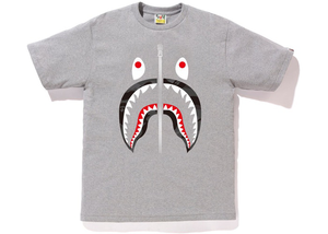 BAPE Color Camo Shark Tee Gray/Black Size L