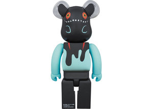 Bearbrick Devil Byron 100% & 400% Set Black