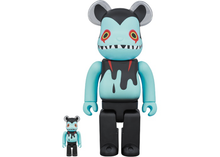 Load image into Gallery viewer, Bearbrick Devil Byron 100% & 400% Set Black