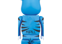 Load image into Gallery viewer, Bearbrick Kidill Bear 100% & 400% Set Blue