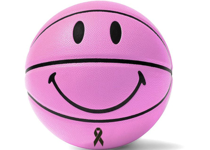 Chinatown BCRF Smiley Basketball Pink Limited Edition 1/100
