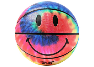 Chinatown Smiley Basketball Tie Dye