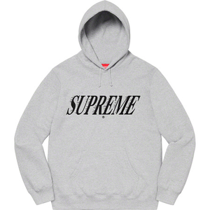 Supreme Crossover Hooded Sweatshirt Grey Size L