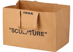 Virgil Abloh x IKEA MARKERAD Large Bag Brown