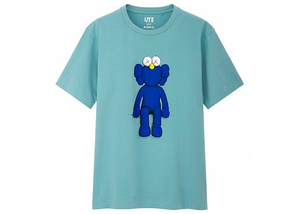 KAWS x Uniqlo Blue BFF Tee Green Size   XL