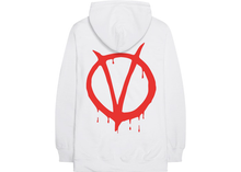Load image into Gallery viewer, Nav x Vlone Vendetta Pullover Hoodie White Size M