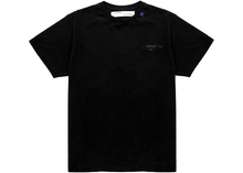 Load image into Gallery viewer, OFF-WHITE Oversized Fit Unfinished T-Shirt Black/White Size M / L