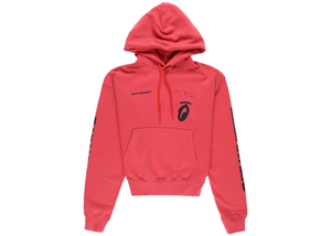 OFF-WHITE Splitted Arrows Hoodie Red/Black Size S / L