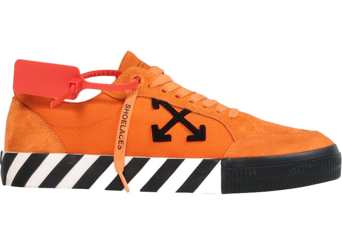 OFF-WHITE Vulcanized Low Orange Size 7 US