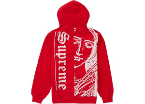 Supreme Mary Hooded Sweatshirt Red Size M