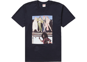 Supreme American Picture Tee Navy Size M